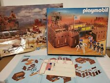 Playmobil Western Fort Bravo Set 3773 with Box Poster Instructions