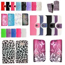 Iphone 5 C Diseño Impreso De Cuero PU Magnético Abatible Cubierta Estuche/libro