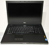 Dell Precision M6800 Laptop Intel Core i7 2.50 GHz 16GB Ram 256GB SSD Windows