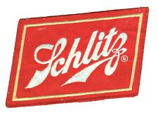 Schlitz Beer Patch Large Size 6.75 x 4.5