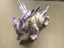 Digimon digivolving figure Garurumon to Weregarurumon Rare Limited Metallic