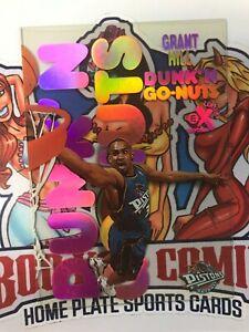 1998-99 Skybox E-X Century #2DG Grant Hill Dunk'n Go-Nuts Acetate Insert Pistons