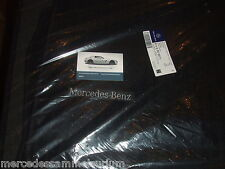 Mercedes Benz Original Satz Rips Fussmatten E Klasse W 124 LHD Schwarz Neu OVP