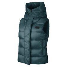 Nike Womens Uptown 550 Down Vest Teal/Black 683889