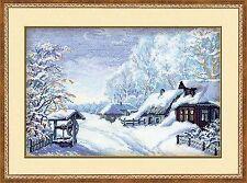 Counted Cross Stitch Kit RIOLIS - RUSSIAN WINTER
