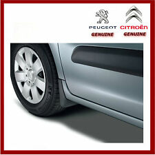 Genuine Peugeot Partner / Citroen Berlingo Front & Rear Mud Flaps / Guards. New.