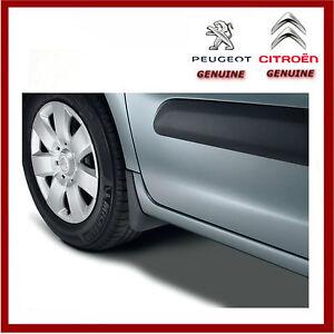 Genuine Peugeot Partner / Citroen Berlingo Front & Rear Mud Flaps / Guards. New.