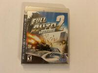 Full Auto 2: Battlelines for Sony PlayStation 3 PS3 New Still Sealed