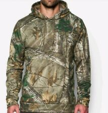 Under Armour All Over Camo RealTree AP Mens Hunting Hoodie Large L New NWT Hunt