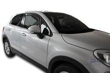 Fiat 500x 5 portes 2015-prés Deflecteurs d'air Déflecteurs de vent 2pcs