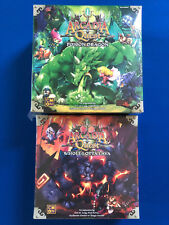 Arcadia Quest Inferno: Poison Dragon and Whole Lotta Lava Kickstarter Exclusives