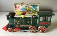 MODERN TOYS JAPAN BATTERY OPERATED WESTERN SPECIAL LOCOMOTIVE FULLY WORKING +BOX