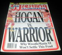 Vintage Pro Wrestling Illustrated Magazine WWE WCW WWF Wrestler Hogan Warrior