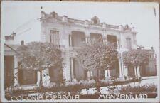 Manzanillo, Granma, Cuba 1930s Realphoto Postcard: 'Colonia Espanola'