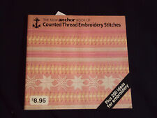 New Anchor Book of Counted Thread Embroidery Stitches-Excellent Condition!