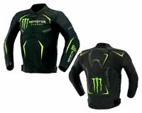New Monster Racing BIKERS  Motorcycle/Motorcycle Riding CE Armour Leather jacket
