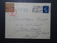 Netherlands 1941 Censor Cover to USA (V) - Z10726