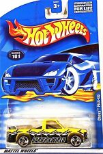Hot Wheels 101 Chevy Pick-up, Barb'd & Wired, Pickup Truck 2001 3 spoke Mint
