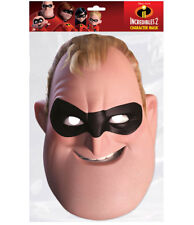 Mr Incredible Official Incredibles 2 Single 2D Card Party Face Mask