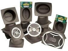 """Dei Boom Mat Speaker deflettori 6.5"""" rotondo sottile (coppia)"""