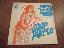 45 tours deep purple black night