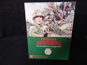 GMT Games - Operation Shoestring - The Guadalcanal Campaign ,1942 Unpunched