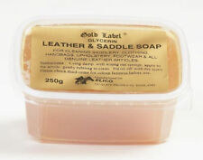 Gold Label Saddle Soap 250g Glycerin Leather soft Pony Horse Care & Grooming