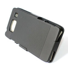 Motorola Droid Razr Maxx HD XT926 Hard Holster Kickstand Case Cover w/ Belt Clip