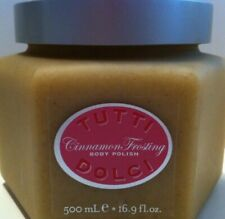 Bath Body Works Tutti Dolci Cinnamon Frosting Body Buff Scrub 16.9 oz New