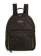 Kate Spade Nylon Backpack watson lane Quilted hartley ~NWT~ Black