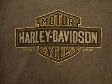 Harley-Davidson Motorcycles Crystal River Florida Forest Green T Shirt S