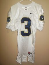NOTRE DAME FIGHTING IRISH  GAME ISSUE FOOTBALL JERSEY
