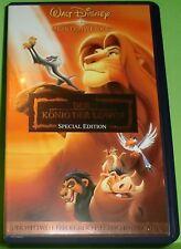 Walt Disney Meisterwerke: Der König der Löwen - Special Edition (VHS Kassette)