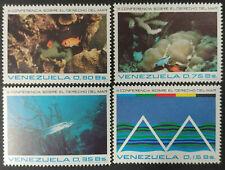 Venezuela, 1974 r. ** Mi. 1963-1966 ryby fish Fisch