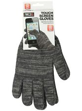 Gloves Touch Screen Cotton One Size Fits All Stretch New Winter Warm Phone Black