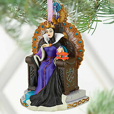 Disney Store EVIL QUEEN Sketchbook Christmas Ornament 2010 New