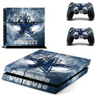 Dallas Cowboys Decal Sticker Skin For Playstation 4 PS4 Console+Controllers