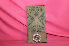 Farmhouse Tin Plaque w Victorian Style Door Knob Rustic Wall Decor Towel Hanger