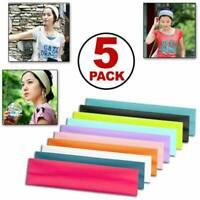 Elastic Sport Hair Band /Headband for Men Women - Sweatband for Gym Yoga Casual~