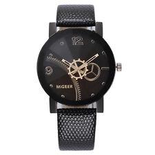 Luxury Men's Watch Stainless Steel Leather Analog Quartz Boy Sport Wrist Watch