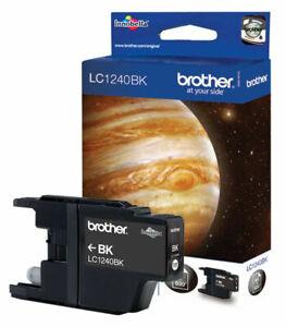 Genuine Original Brother LC1240BK Black Printer Ink Cartridge. VAT.Inc - No Box