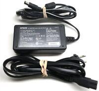 Genuine Epson Printer Scanner AC Adapter Power Supply A110B 2034893-00 24V 19.2W