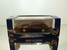 BOS PORSCHE 928 STUDIE H50 - 1987 - DARK RED METALLIC 1:43 - EXCELLENT IN BOX