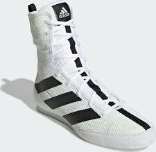 Mens Adidas Box Hog 3 Mens Boxing Shoes - White Size US 11