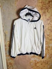 Vintage Adidas Shellsuit Tracksuit Top Women's Small 90s