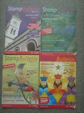 4 Issues of Stamp Bulletin of Australia Post Dated May - December 2009