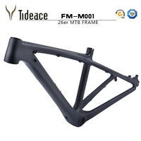 "26er 14"" T800 Carbon Fiber Cycling Mountain Bicycle Frames BB92 3K Matte OEM"