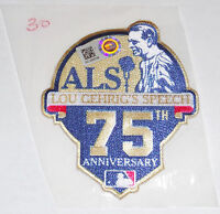 LOU GEHRIG NY YANKEE SPEECH ALS 75th ANNIV. GAME USED JERSEY PATCH SUAREZ TIGERS