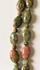 Unakite Accent Semi-Precious Stone Beads 10