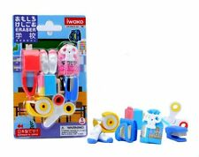 Set of 10 Iwako Japanese Eraser Set - School Accessories Kid Toy S-1832x10